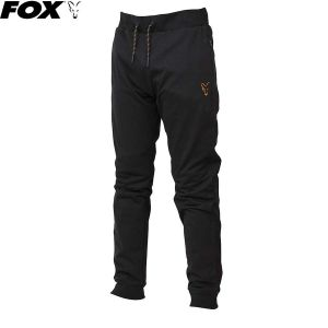 Fox Black & Orange Lightweight Joggers - melegítő nadrág
