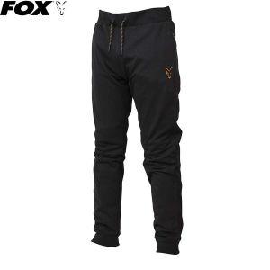Fox Black & Orange Lightweight Joggers - melegítő nadrág