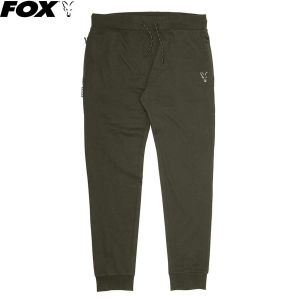 Fox Collection Green & Silver Lightweight Joggers - nadr
