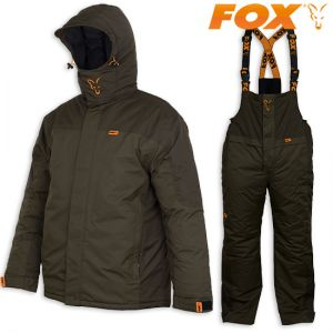 Fox Winter Suit - Téli ruha szett (zöld) (bélelt kabát és na