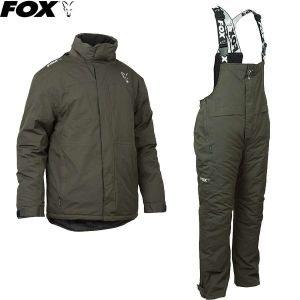 Fox Winter Suit Green & Silver - Téli ruha szett