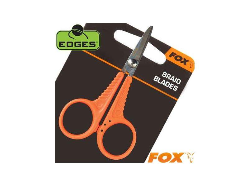 Fox Edges Braid Blades - Zsinórvágó Olló