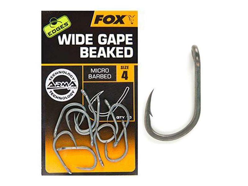Fox EDGES™ Wide Gape Beaked - Bojlis horog