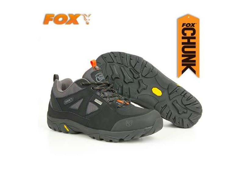 Fox Chunk Explorer Shoes - fekete horgász cipő