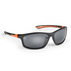 Fox® Collection Black & Orange Frame/Grey Lens napszemüv