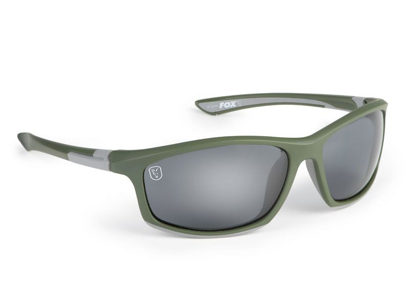Fox® Collection Green & Silver Frame/Grey Lens napszemüv