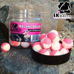 LK Baits Balanc Boilie - 250ml - 20mm - Wild Strawberry &