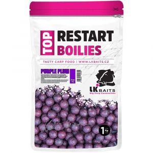 LK Baits Top Restart bojli - Purple Plum - 1kg
