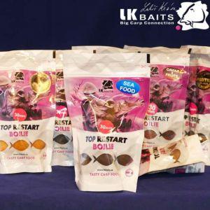 LK Baits Top Restart - csalizó bojli - Sea Food - 250g