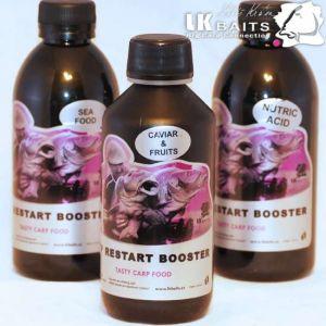 LK Baits Booster Top restart - 250ml - Caviar&Fruits