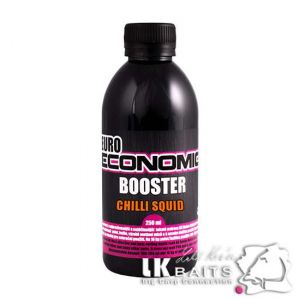 LK Baits Booster Top restart - 250ml - Chilli Squid