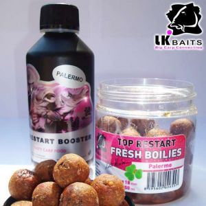 LK Baits Booster Top restart - 250ml - Palermo