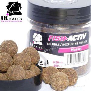 LK Baits Fish Activ Oldódó bojli - 20mm - Mussel