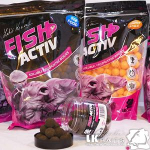LK Baits Fish Activ Oldódó bojli - 20mm - Sea Food