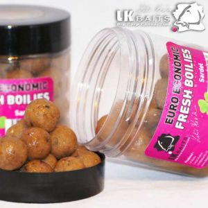 LK Baits Fresh Boilies in DIP - Sardel - 18mm 250ml
