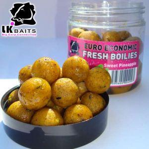 LK Baits Fresh Boilies in DIP - Pineapple - 18mm 250ml