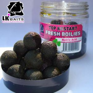 LK Baits Fresh Boilies in DIP - Nutric Acid - 18mm 250ml
