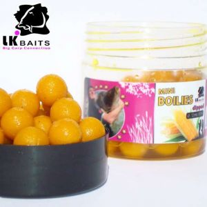 LK Baits MINI Boilies in DIP - 12mm - 150ml - World Record C