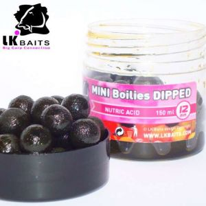 LK Baits MINI Boilies in DIP - 12mm - 150ml - NUTRIC ACID