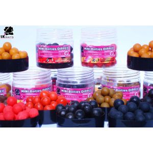 LK Baits MINI Boilies in DIP - 12mm - 150ml - ICE VANILLA