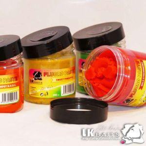 LK Baits Boilie Paste Fluoro - 250g - Wild Strawberry
