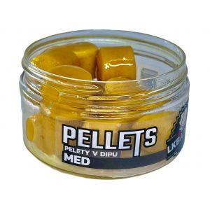 LK Baits Pellets in Dip Honey 60g (két méretben)