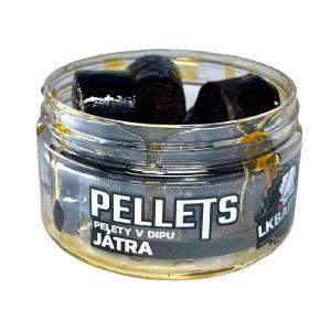 LK Baits Pellets in Dip Liver 60g (két méretben)