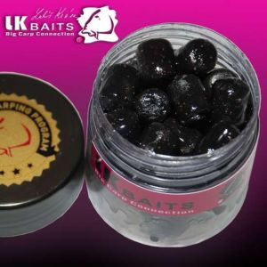 LK Baits Balanc Pellets in DIP - 12mm - 150ml - Black Protei