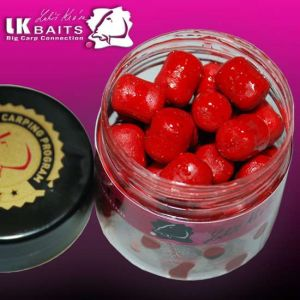 LK Baits Balanc Pellets in DIP - 12mm - 150ml - Wild Strawbe