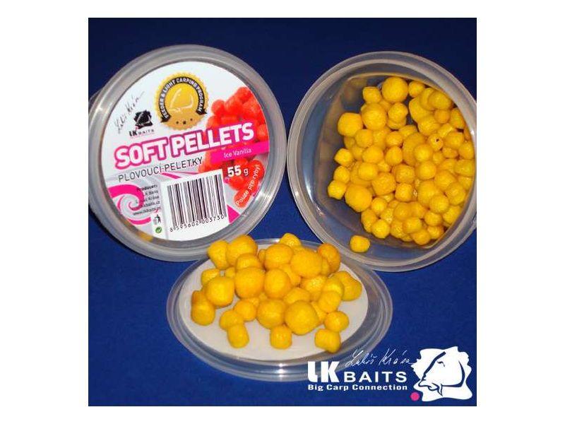 LK Baits Restart - csalizó bojli - ICE Vanilla - 250g