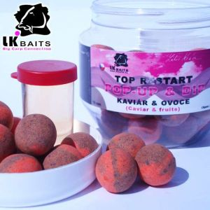 LK Baits POP-UP Top ReStart - Caviar&Fruits (18mm, 14mm)