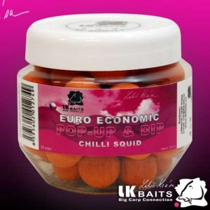 LK Baits Euro Economic Pop-up - 18mm - Chilli Squid