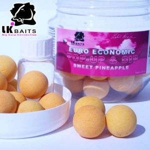 LK Baits Fluoro Pop-up Boilie Pineapple (10,14,18,24 mm)