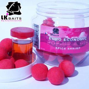 LK Baits Euro Economic Pop-up - 18mm - Spice Shrimp