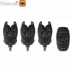 Prologic SNZ Bite Alarm Kit 3+1 elektromos kapásjelző szett