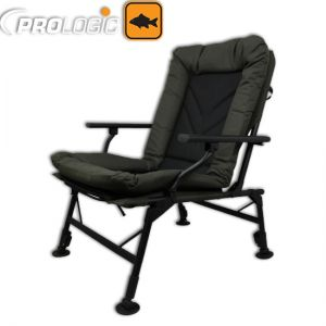 Prologic Cruzade Comfort Chair W/Armrest - karfás szék