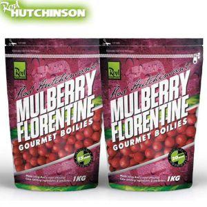 Rod Hutchinson Gourmet Boilies 1kg - Mulberry Florentine