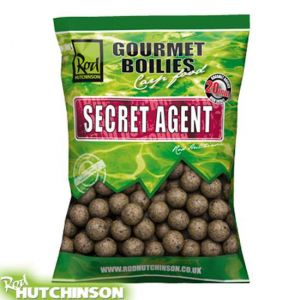 Rod Hutchinson Gourmet Boilies 1kg - Secret Agent