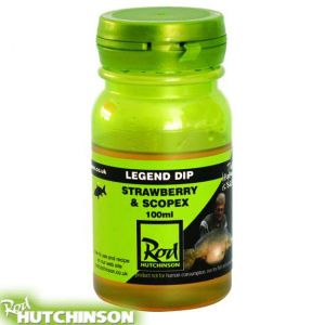 Rod Hutchinson The Legend Dip 100 ml - Strawberry & Scopex