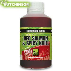 Rod Hutchinson Liquid Carp Food - 500ml - Red Salmon & Spice