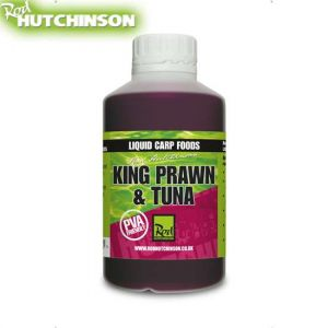 Rod Hutchinson Liquid Carp Food - 500ml - King Prawn & Tuna