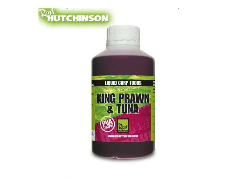 Rod Hutchinson Liquid Carp Food - 500ml - King Prawn & Tuna