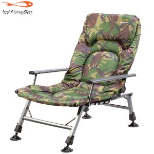 TF Gear Survivor Arm Chair - terep mintás karfás fotel